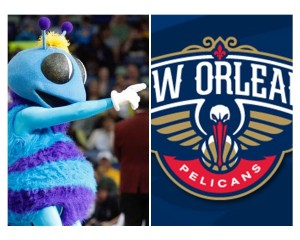 New Orleans Hornets last home game before becoming the Pelicans
