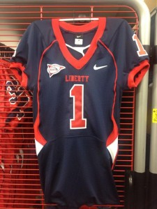 Liberty Flames New Football Jersey