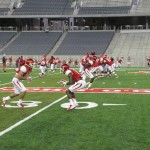 Coogs15 scrimmage2014