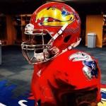 Kansas chrome helmet 2014