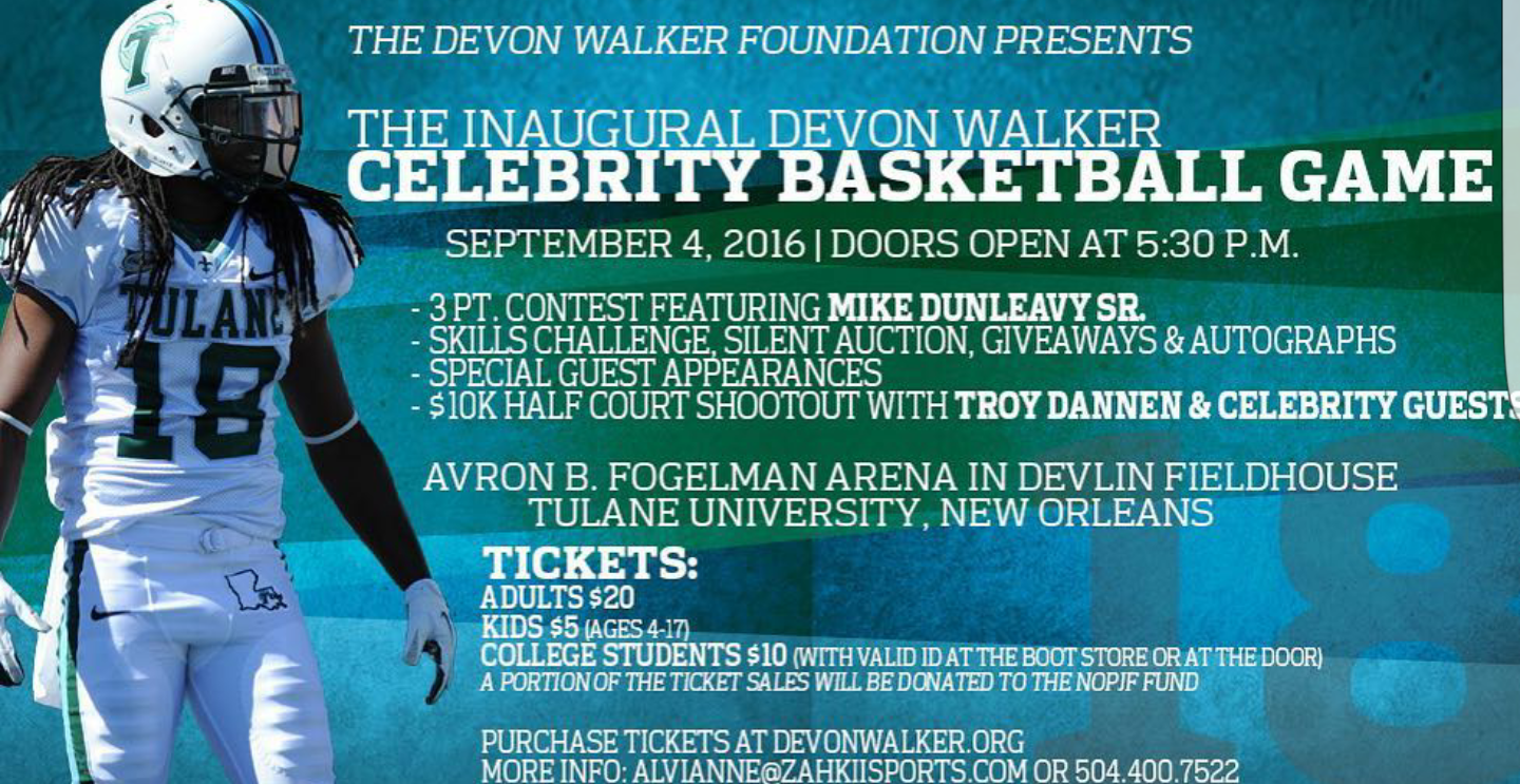 Devon Walker Foundation Celebrity Basketball Game