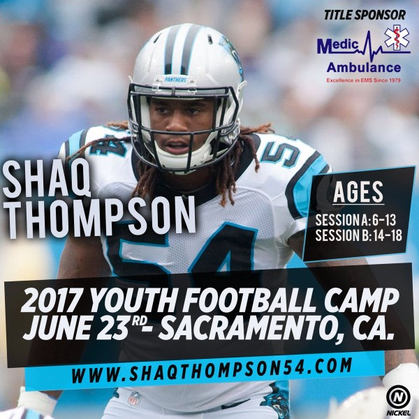 Shaq Thompson Youth Football Camp